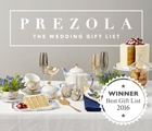 Prezola| Wedding Git List of the Year
