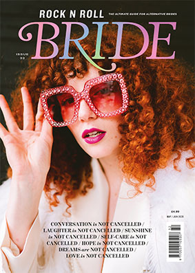 Rock n Roll Bride Magazine Cover