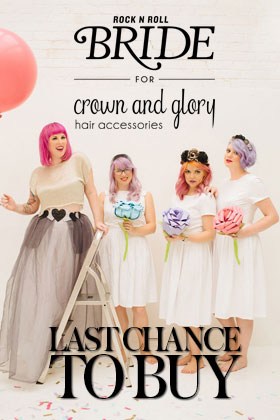 RocknRollBride for Crown and Glory