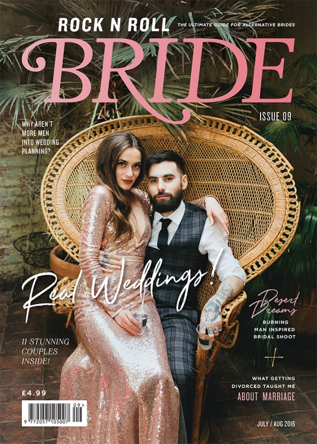 rocknrollbride magazine issue 9 cover