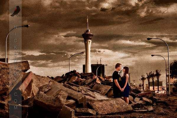 Las Vegas Post Apocalyptic Stylee 183 Rock N Roll Bride