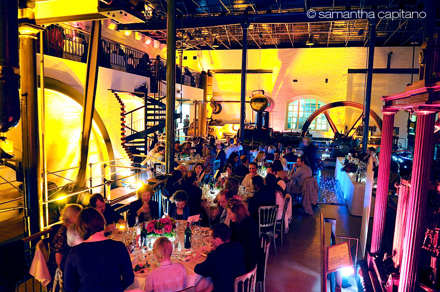 Kew steam museum wedding
