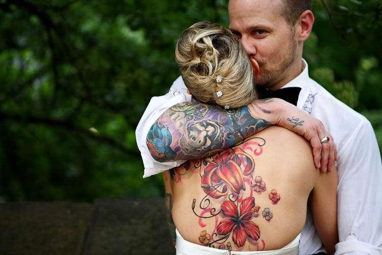 Ribbon tattoo small flower tattoos…