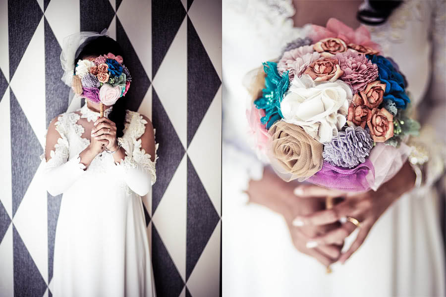 How ToMake Your Own Fabric Flower Bouquet Tutorial By Josephine Sicad Rock N Roll Bride