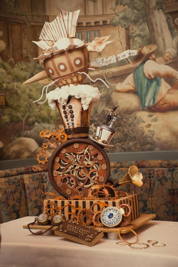 steampunk cake rock n roll