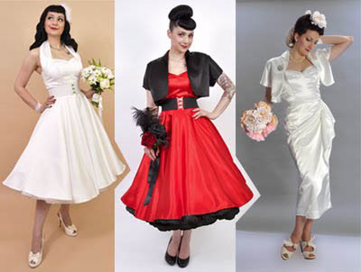 Help me find the perfect rockabilly dress for my vegas for Rock n roll wedding dress