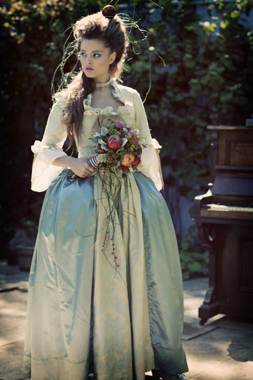 Marie Antoinette Inspired Wedding Dress 64 Vintage Blog it