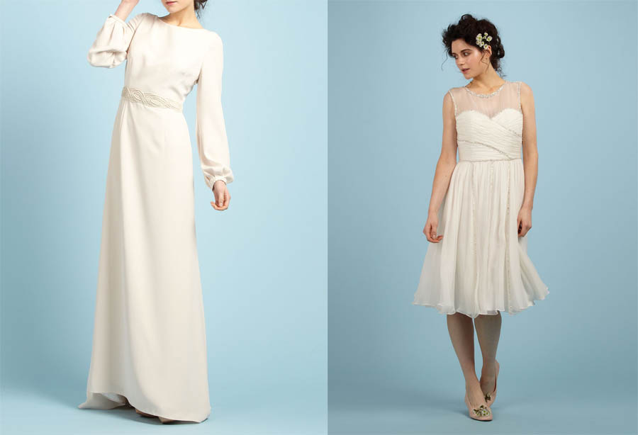 Alternative wedding dresses uk only