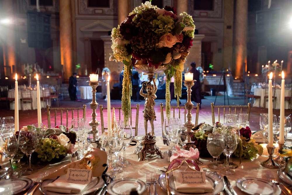 Elhaam Amp Mats Labyrinth Inspired Venetian Ball Wedding Rock N Roll Bride