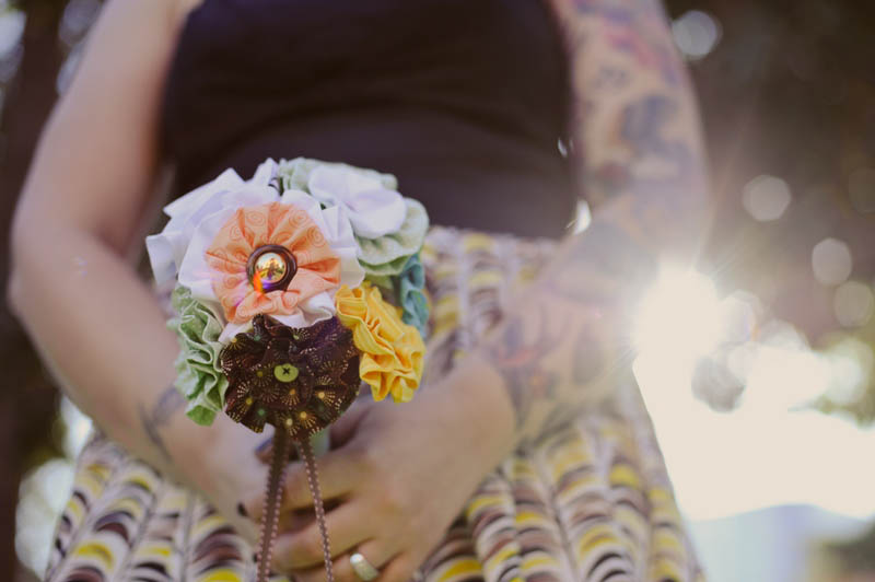 How To…Make Your Own Fabric Bouquet · Rock N Roll Bride
