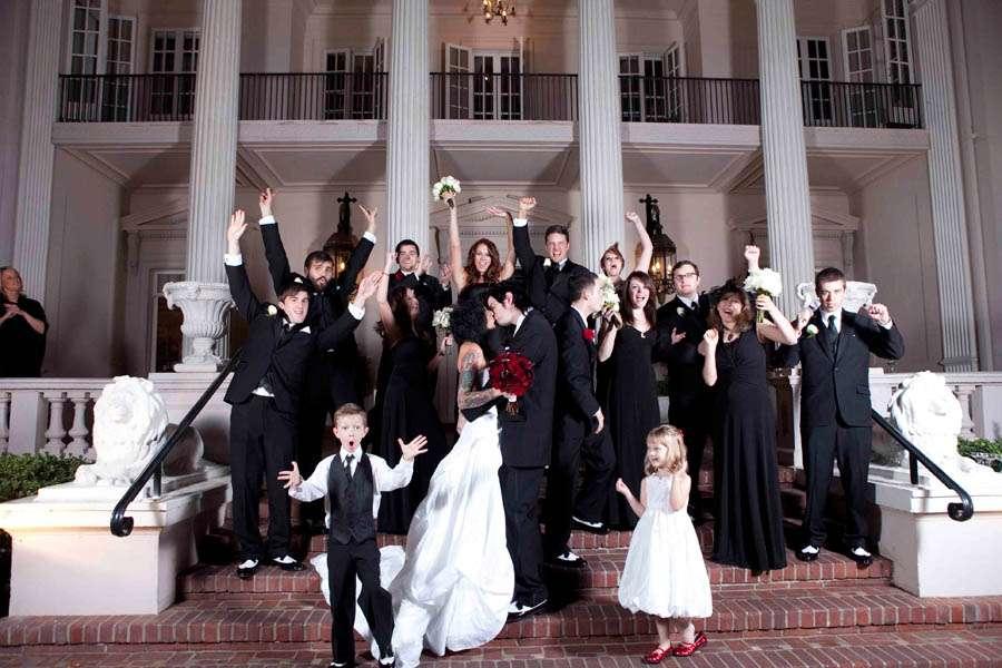 Jessica Jasons Halloween Horror Wedding Rock N Roll Bride