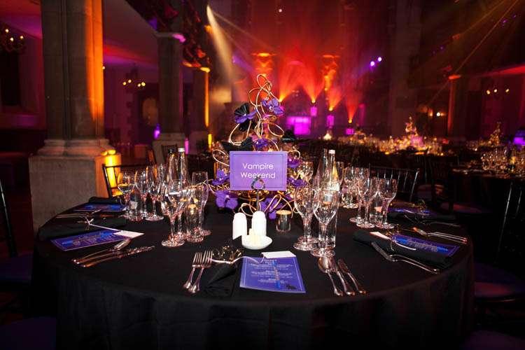 Sarah Amp James Deep Purple One Mayfair Wedding 183 Rock N