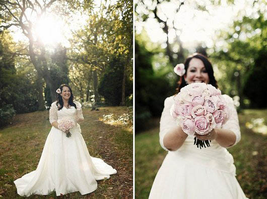 Wedding Gowns For Chubby Brides
