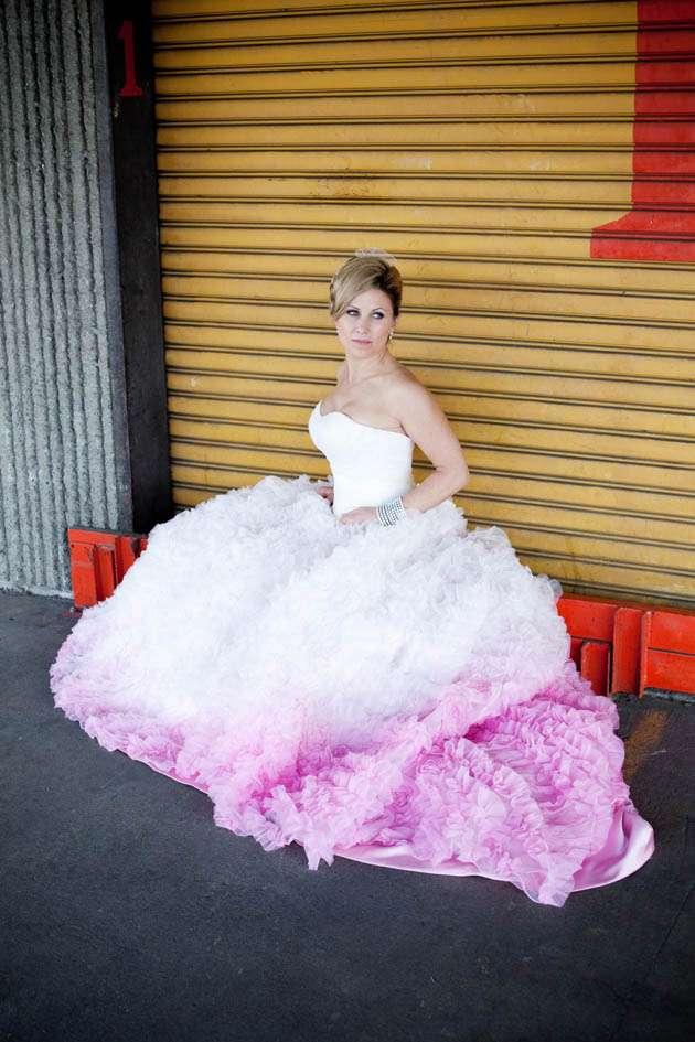 Ruffled Wedding Gowns 84 Popular