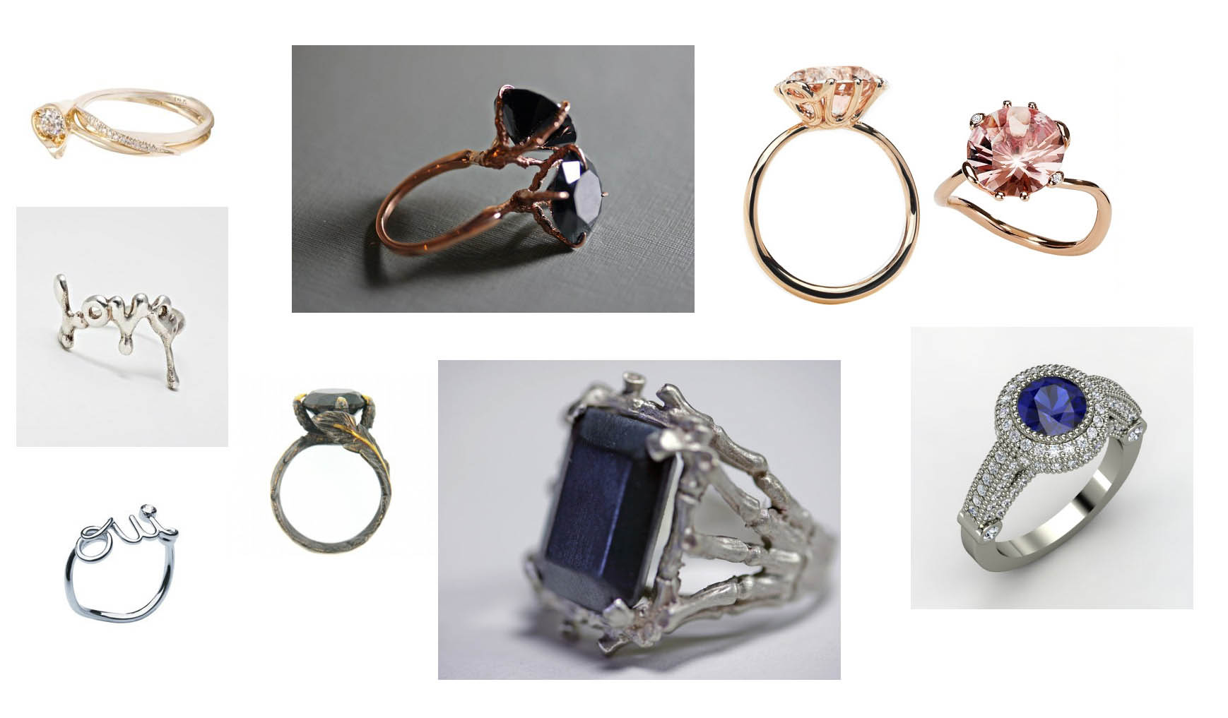 Feel free to add your own links to engagement rings you've seen and loved on ...