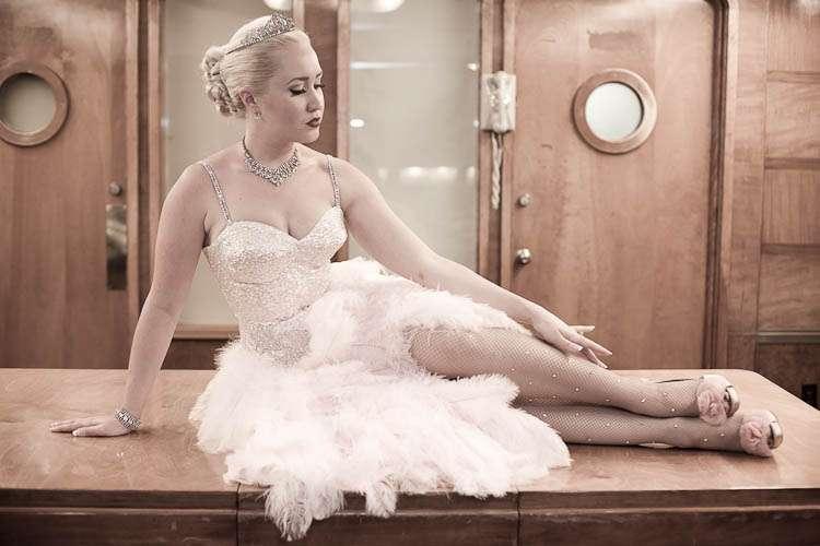 Pin Up Wedding Dresses 45 Cool She