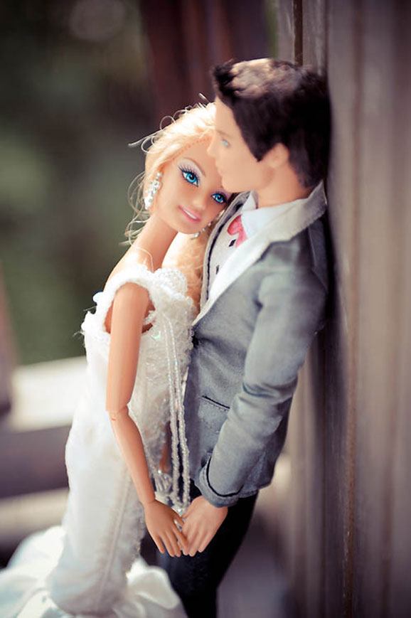 Barbie & Ken Finally Get Married � Rock n Roll Bride