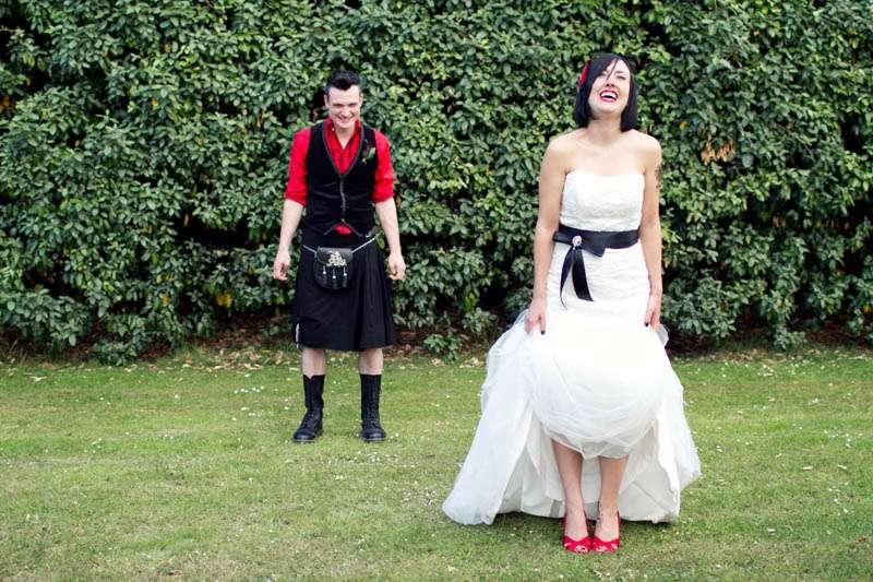 92c5883b274d A Heavy Metal, Karaoke Party: Julia & Steve · Rock n Roll Bride