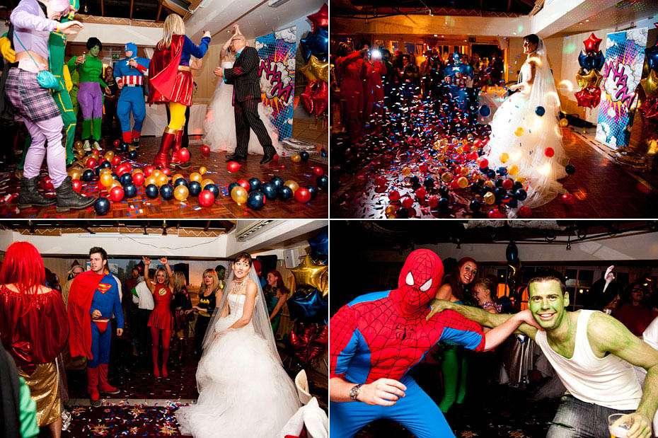 A Surprise Superhero Themed Wedding: David & Jo · Rock n Roll Bride