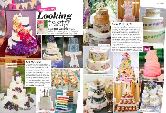 wedding mag oct nov cakes