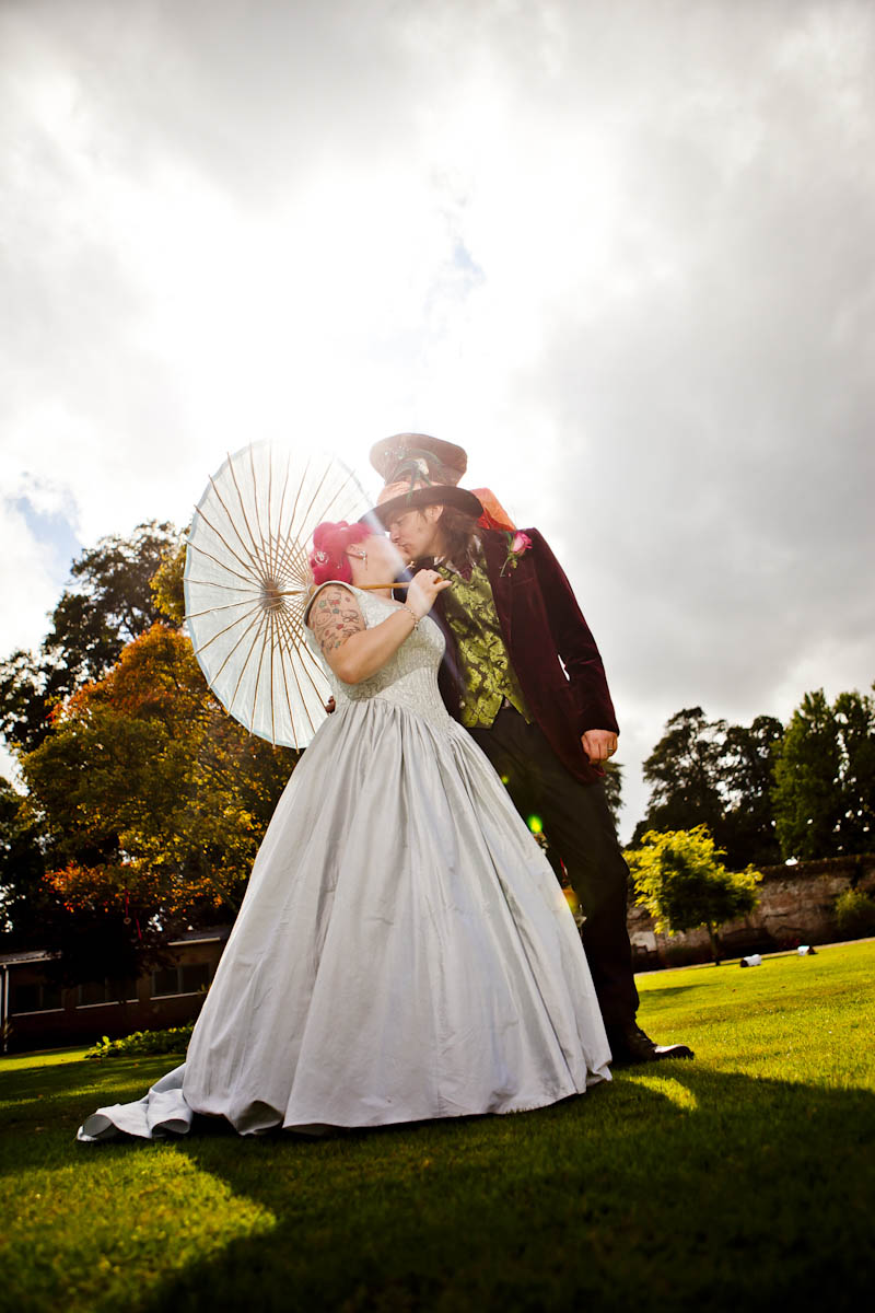 An Alice in Wonderland & Willy Wonka Themed Wedding: Aebbe and Sam ...