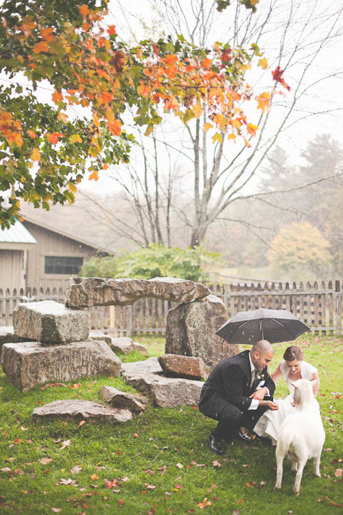 Beautiful Autumn Touches Were The Theme For Joe Carrie S New England Wedding
