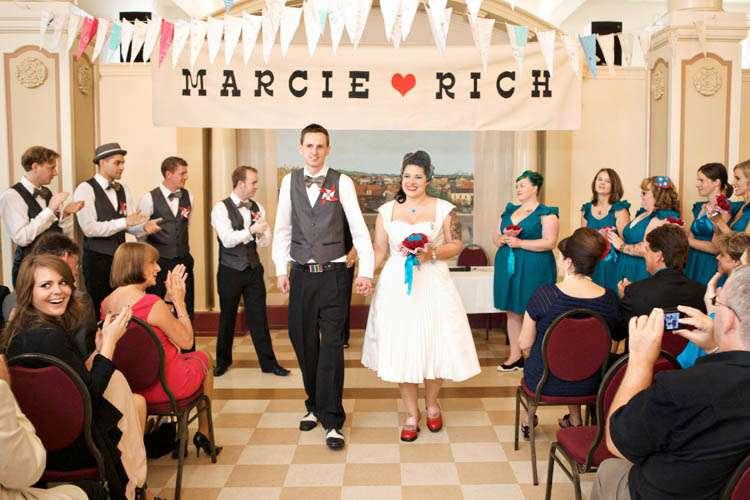1940 Wedding Ideas: A DIY 1940's Carnival Wedding: Marcie & Rich · Rock N Roll