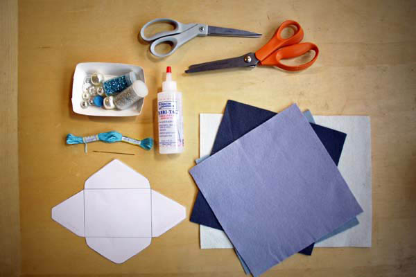 Diy Tutorial No Sew Felt Gift Envelopes By Princess