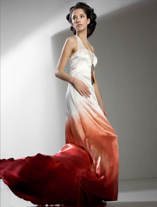 Alternative Colourful Wedding Dresses From Chrissy Wai Ching