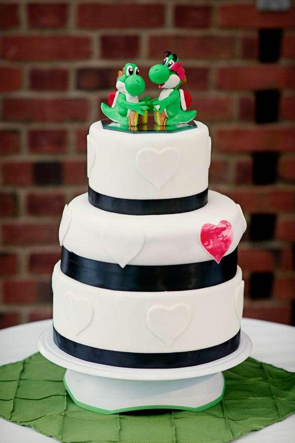 Yoshi Final Fantasy Amp A Bride With Green Hair Esther
