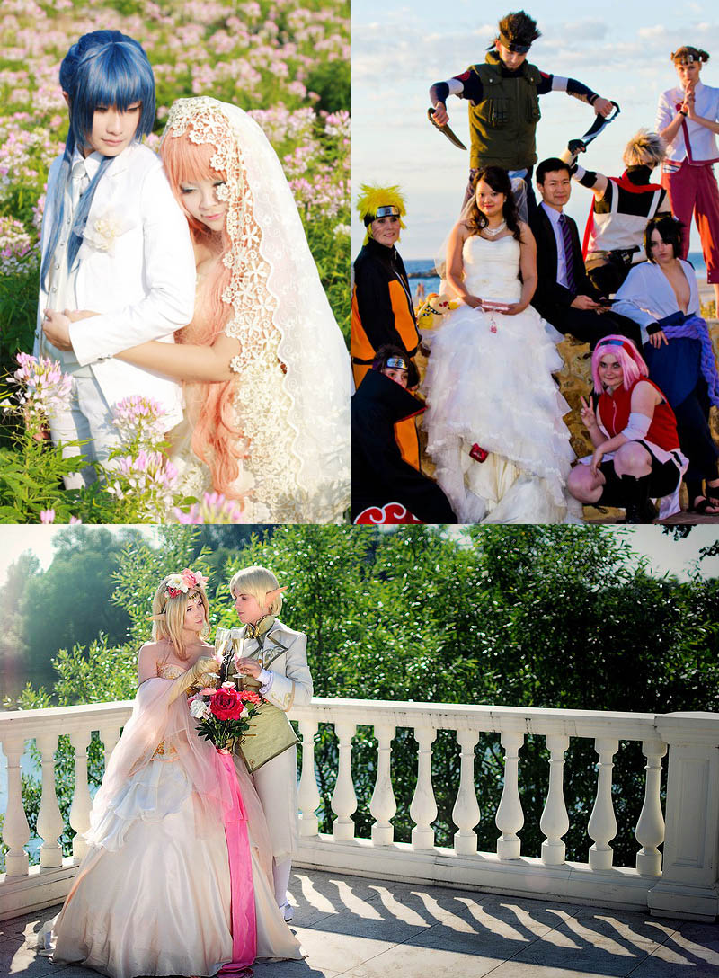 Cosplay Wedding Dress 4 Fancy Cosplay weddings u oh