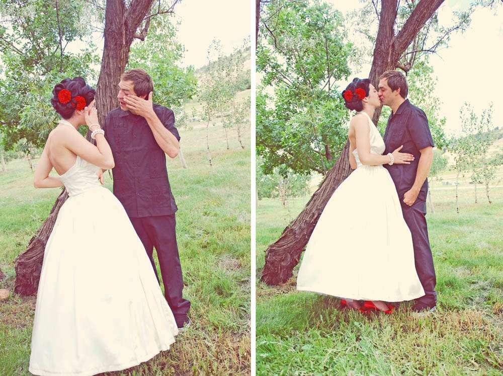 Rainbow Rockabilly Wedding11 183 Rock N Roll Bride