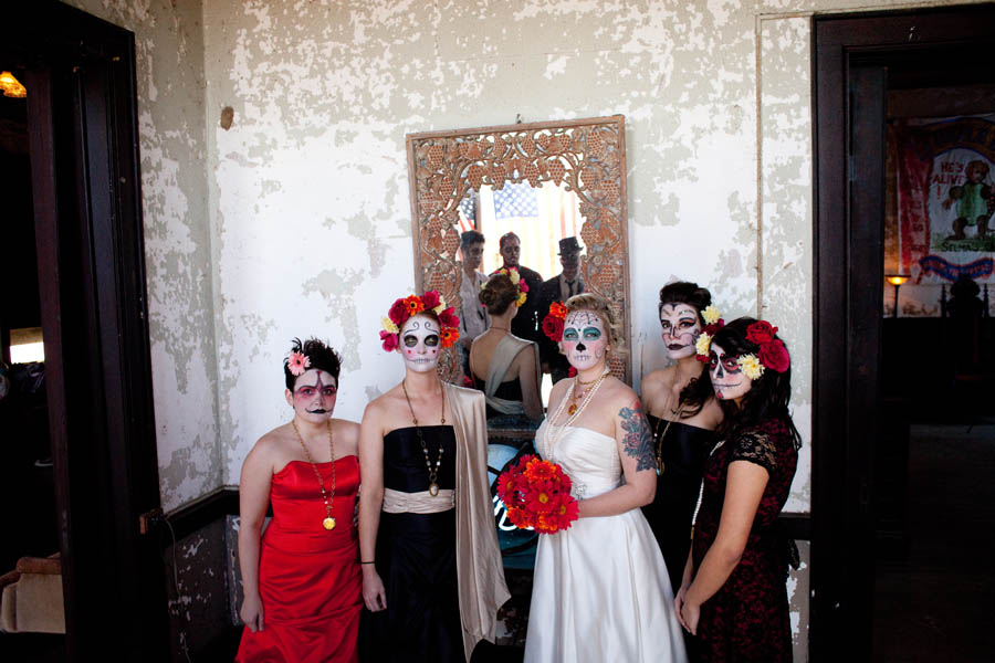 Day Of The Dead Wedding Style Shoot The Element Of