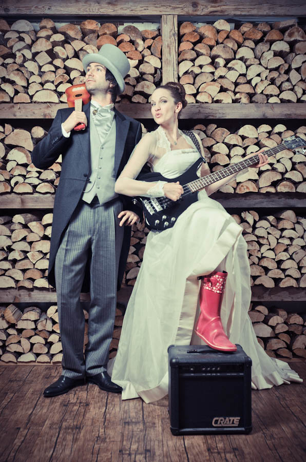 'Love on the Rocks' – A Rock Music Themed Winter Wedding ...