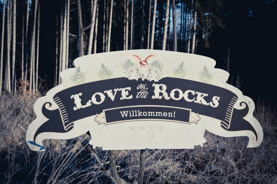 Love On The Rocks A Rock Music Themed Winter Wedding Beatrice