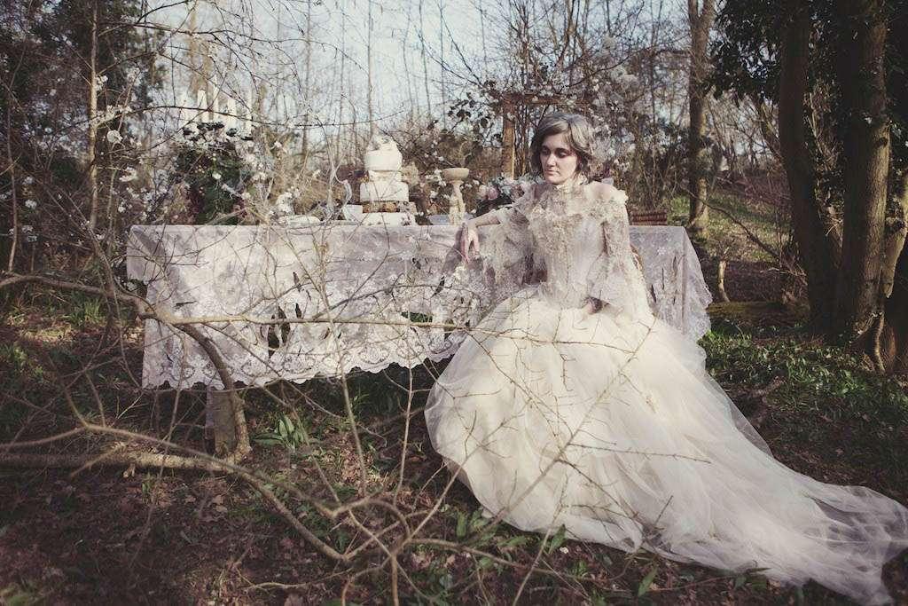 Modern Miss Havisham At The Photography Farm 183 Rock N Roll