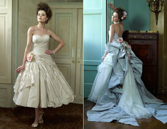 Second Hand Ian Stuart Wedding Dresses - Flower Girl Dresses