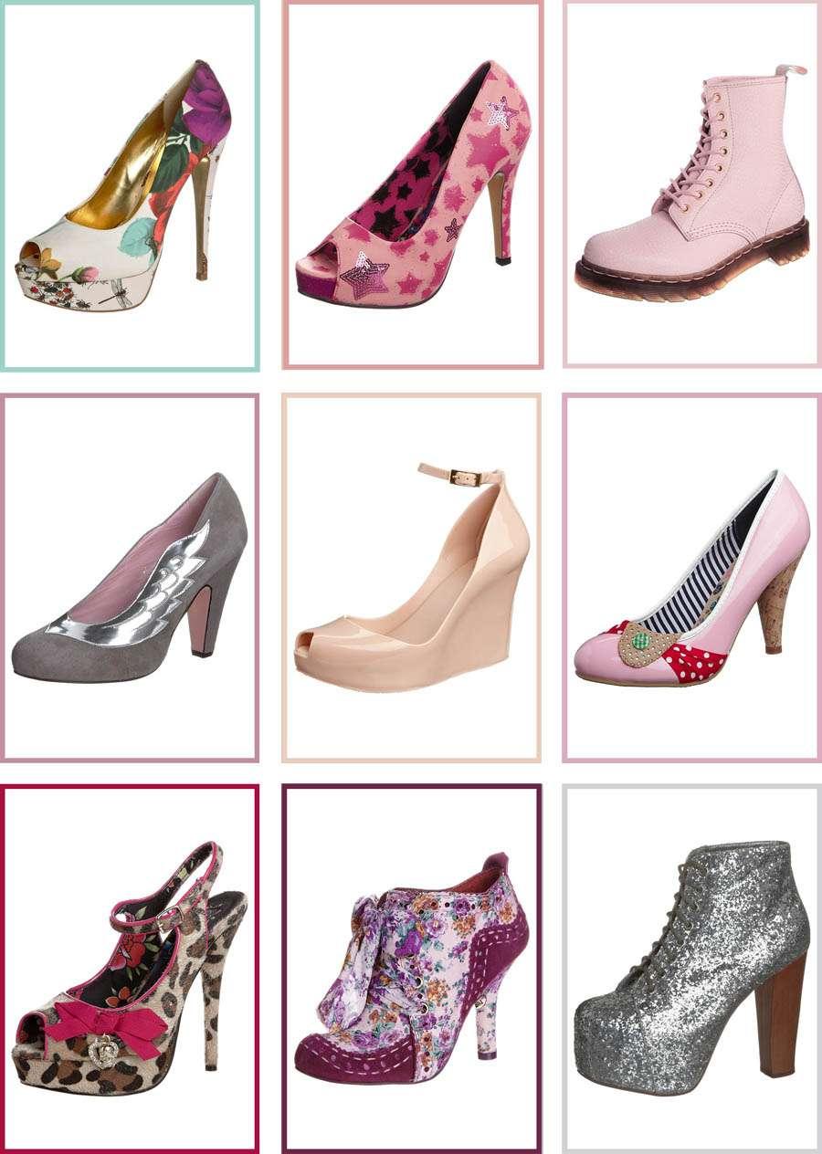207547da9e3 Pretty but Rockin  Pastel Wedding Shoes from Zalando · Rock n Roll Bride