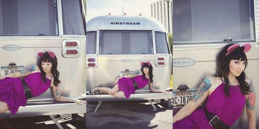 Las Vegas Lovers: Airstream Dreams · Rock n Roll Bride