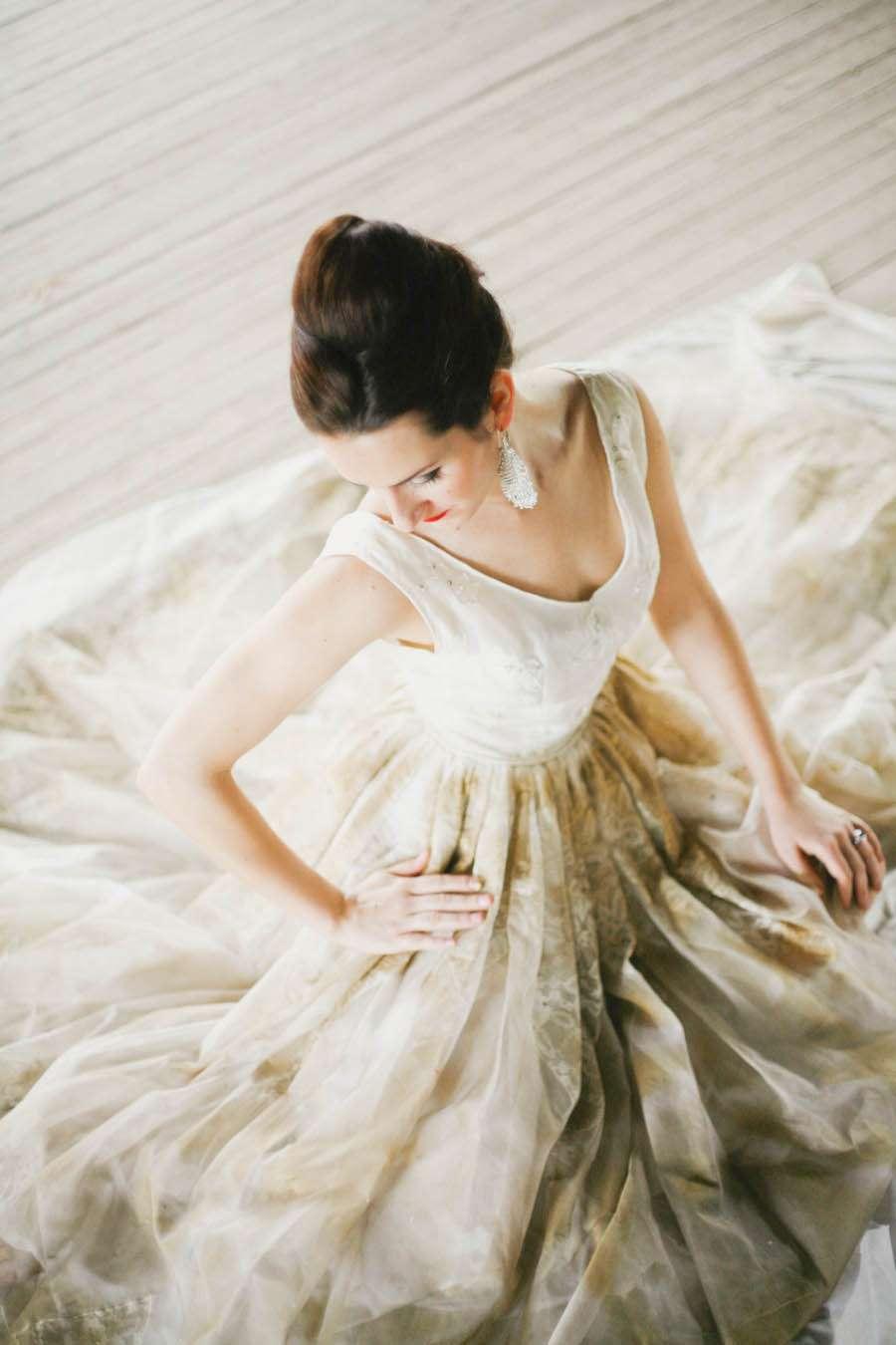 a glitter bridal  trash the dress shoot  u00b7 rock n roll bride