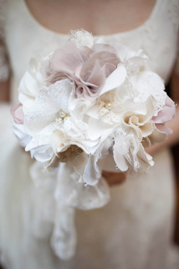 Bridal Bouquet Materials : Fabric bridal bouquets from innstyches off for all readers ? rock n roll bride