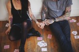 playing cards & tattooed engagement2