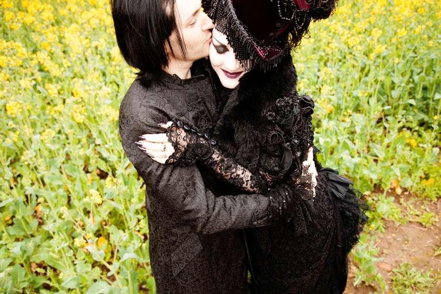 A mythical gothic anniversary shoot emma owen · rock n roll bride