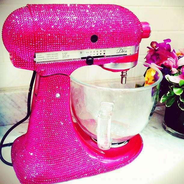 Sparkly Kitchen Aid Mixer