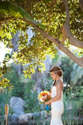 tropical themed wedding flutter glass photography30
