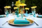 tropical themed wedding flutter glass photography50