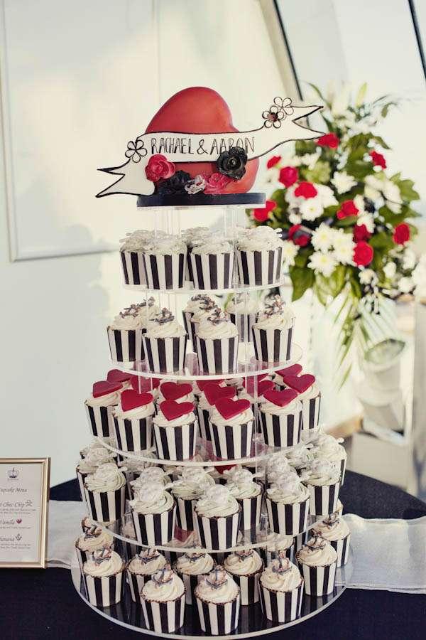 Zombie Themed Wedding Cake
