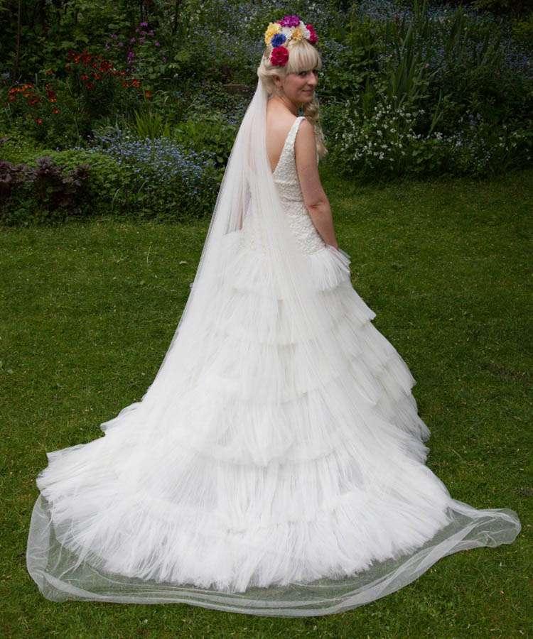 Sugar Skull Wedding Dress 6 Awesome Jess and Martin photographer