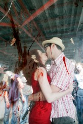 Zombie Apocalypse engagement shoot19