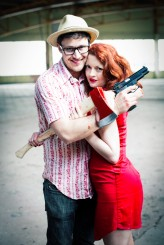 Zombie Apocalypse engagement shoot28